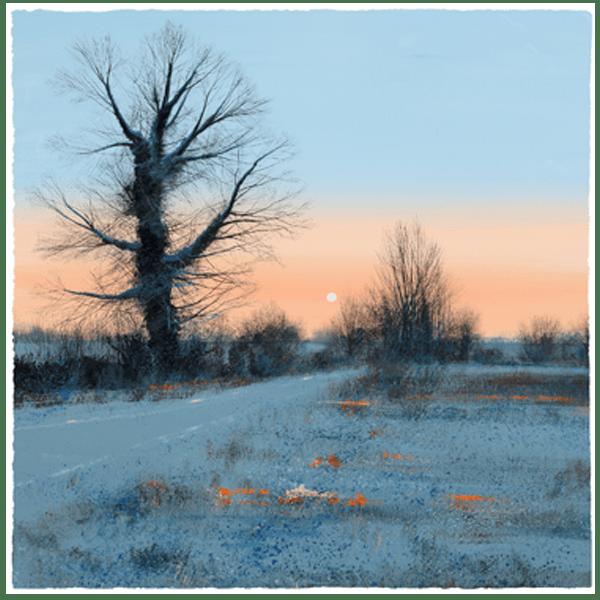 Winter Sunshine - Paul Evans - Limited Edition
