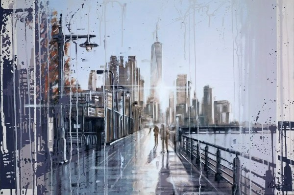 1WTC - Kris Hardy - Original Artwork