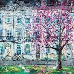 Shadowy Pinks - Katharine Dove - Original Artwork