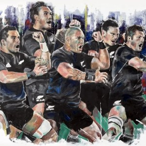 New Zealand Haka - Leanne Gilroy - Limited Edition