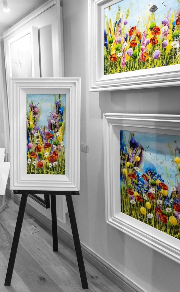 Summer Garden - Rozanne Bell - Original Artwork