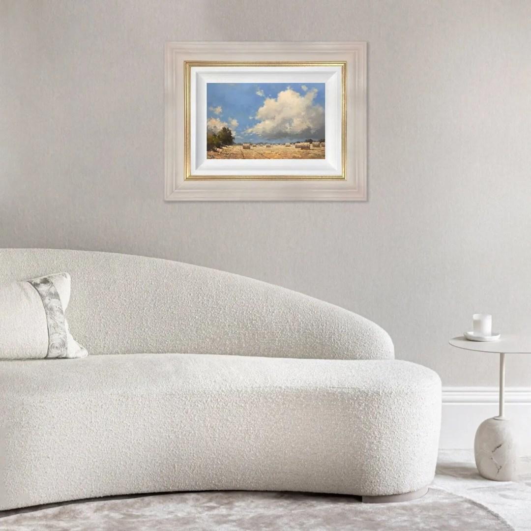 Harvest Landscape - Tony Hinchliffe - Original Artwork