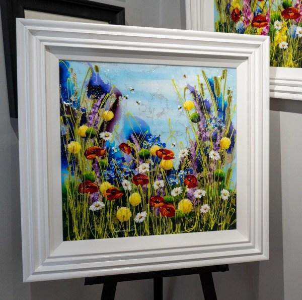 Poppies In Bloom - Rozanne Bell - Original Artwork
