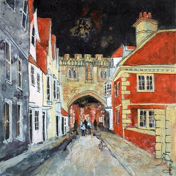 Salisbury North Gate II - Katharine Dove - Original Artwork