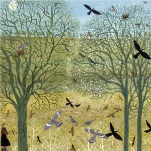 Gathering Sticks - Dee Nickerson - Limited Edition