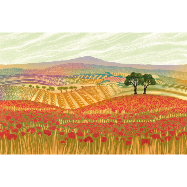Poppy Field - Rebecca Vincent - Limited Edition