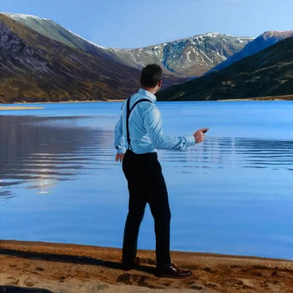 Throwing Stones Loch Callater - Iain Faulkner - Limited Edition