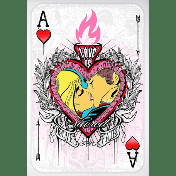 Ace Of Hearts - JJ Adams - Original Artwork