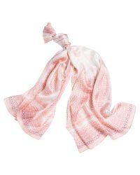 Silk Snake Print Oblong Scarf - White House | Black Market