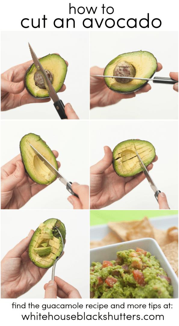 How To Cut An Avocado  White House Black Shutters