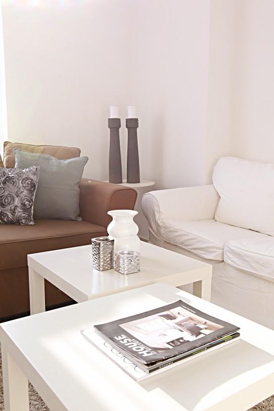 Je woonkamer inrichten in grijs en wit