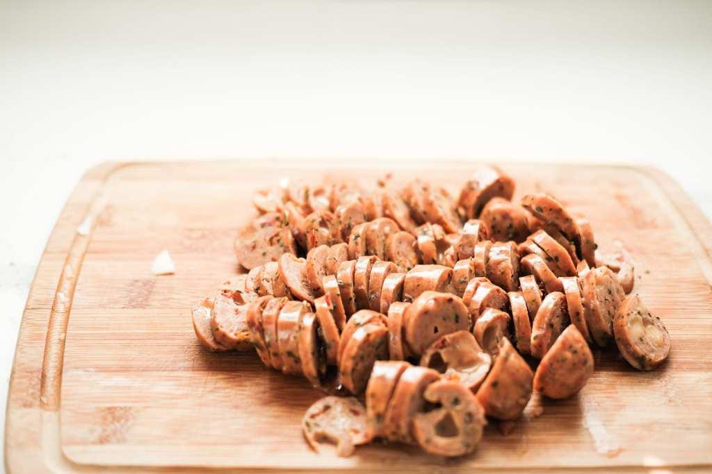 Easy Sausage Stuffed Acorn Squash