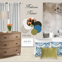 How to decorate your bedroom (Rustic Glam Style)