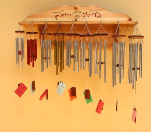 Jerusalem Chimes, tuned wind chimes