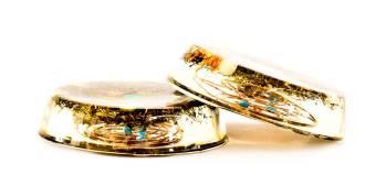 Orgone Plates, Lightstones orgone store plates, orgonite