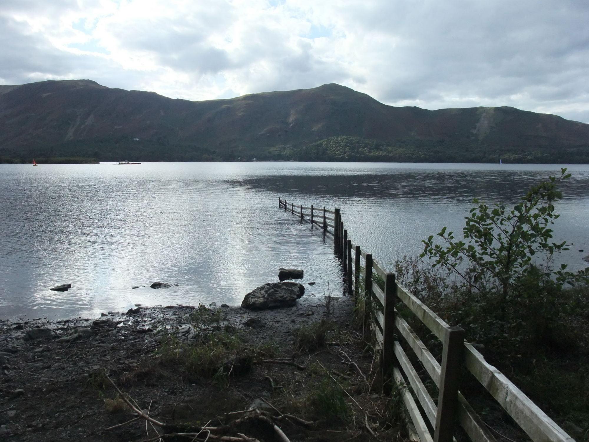View across Derwent Water