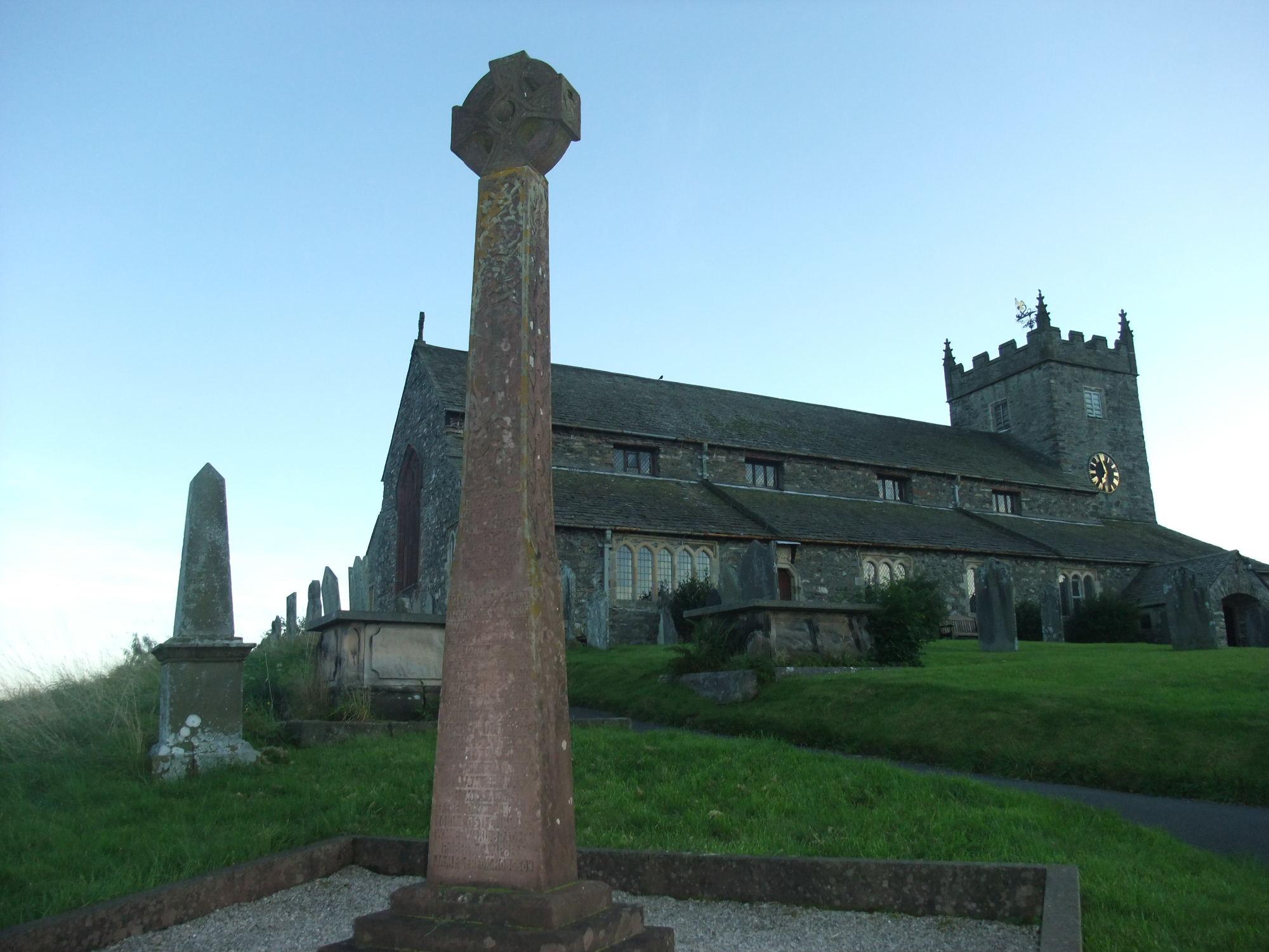 View of Hawkshead Church