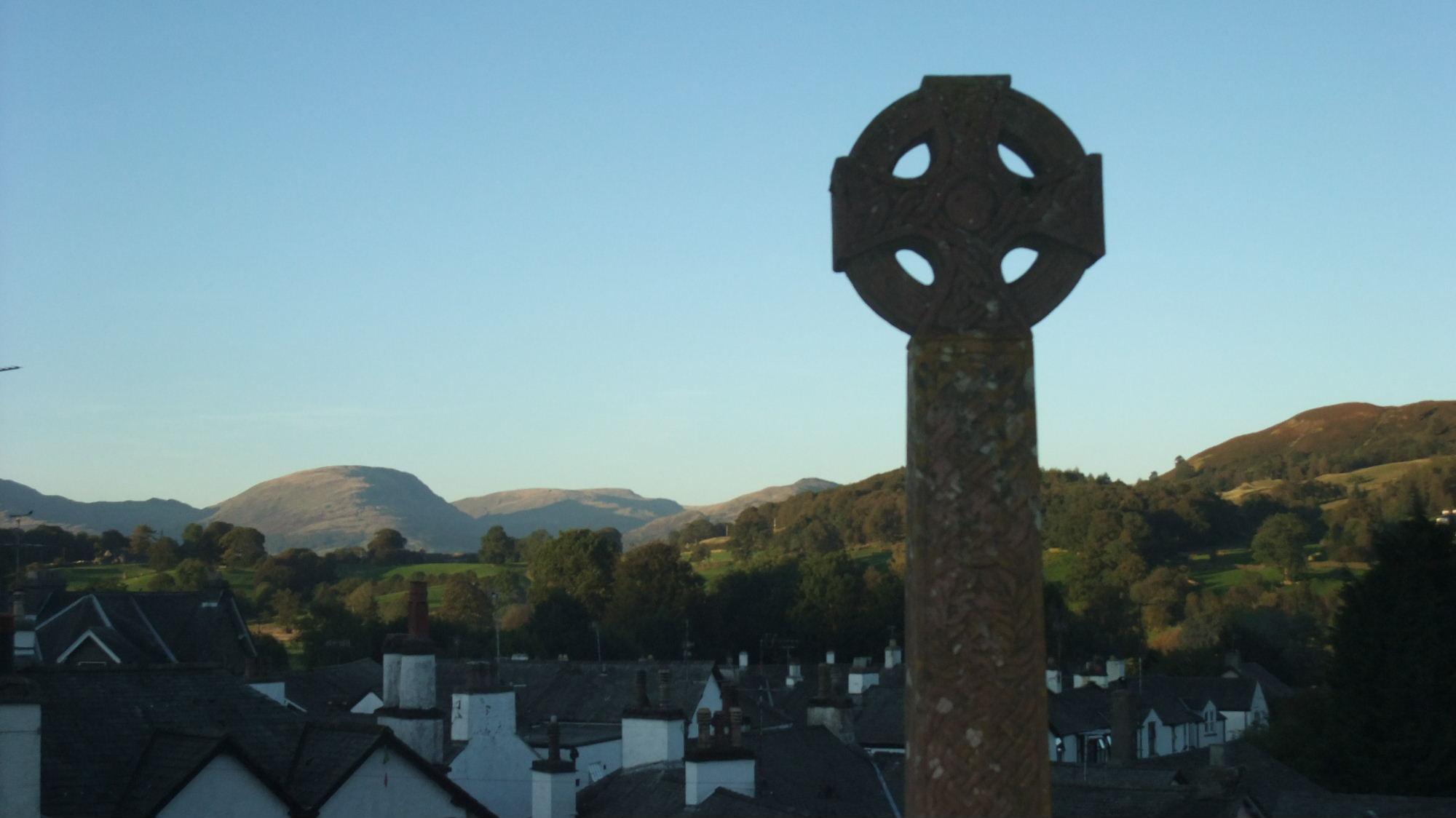View from Hawkshead church
