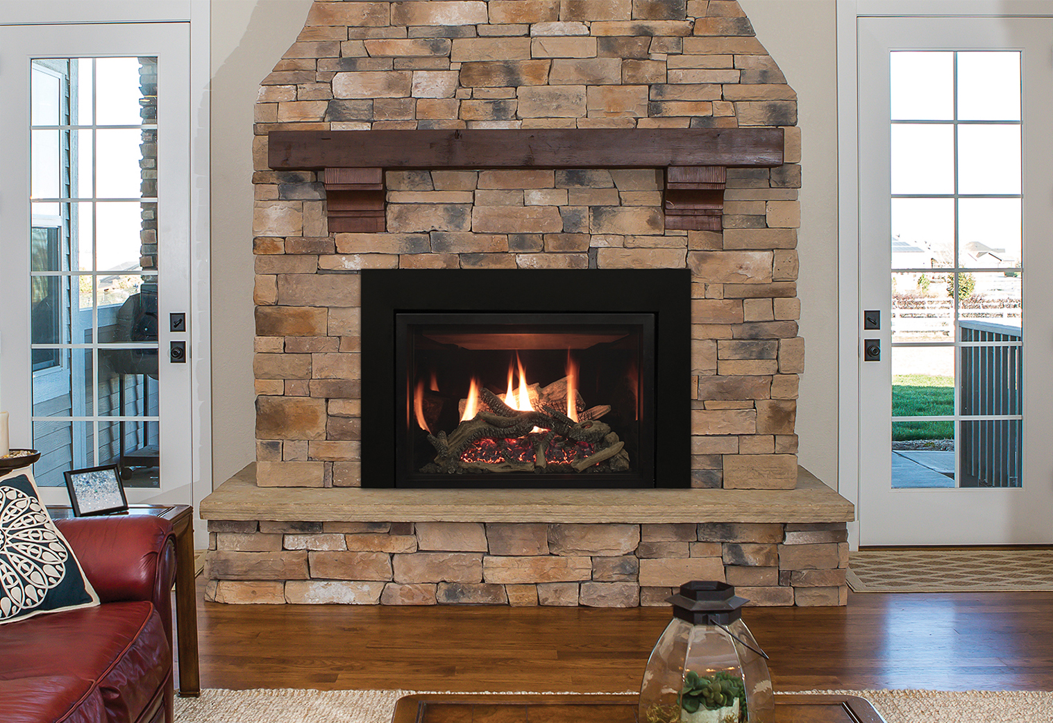 Empire Rushmore 30 Direct Vent Gas Fireplace Insert