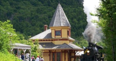 Conway Scenic Railroad Celebrates Its 45th Railfans' Weekend Aug 31- Sept 1