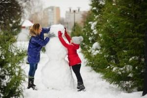snowman, family