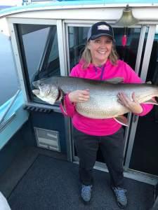 lake trout, flaming gorge, big fish