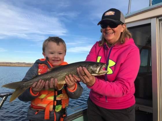 lake trout, fishing, kids, outdoors, lake