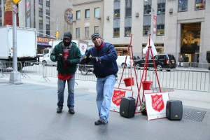 salvation army, donation, holiday, bell