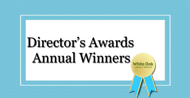 2020 Director's Awards Winners