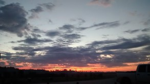 sunrises in Bluffton