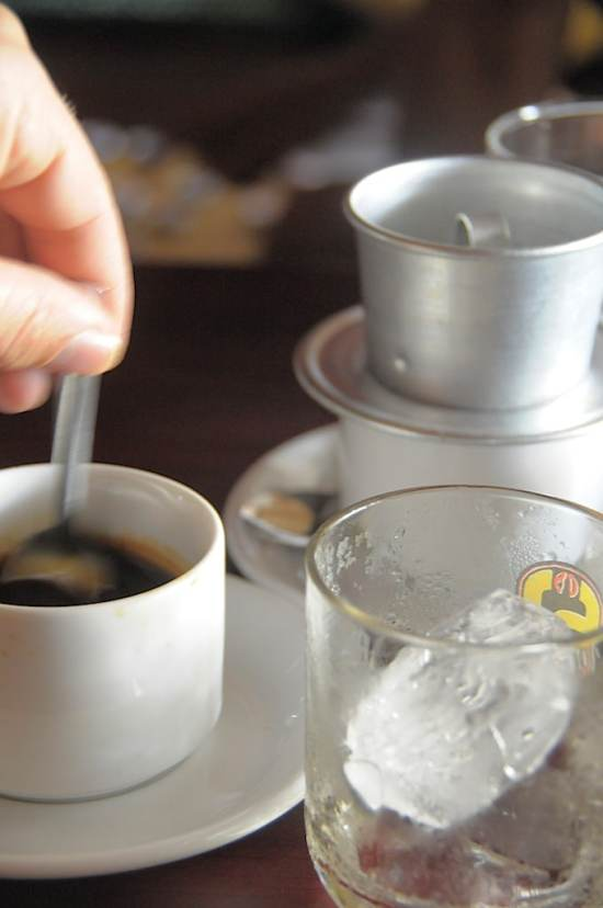 Vietnamese Coffee or Vietnamese Iced Coffee Recipe both Hot and Cold. Delicious and sweet! | @whiteonrice