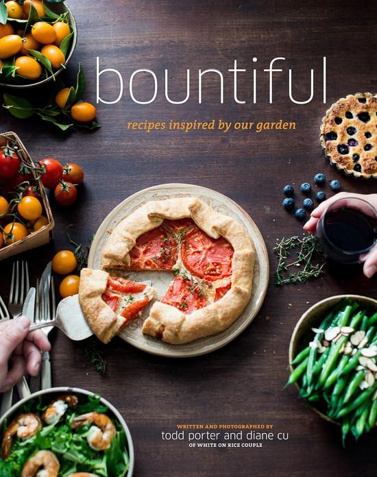 Bountiful Cookbook & Roasted Strawberry Scones Recipe