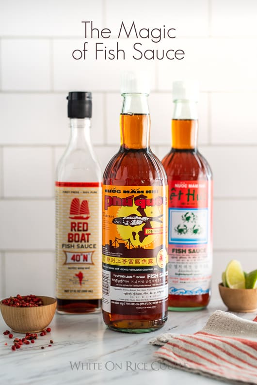 Best Fish Sauce Brand and What is best fish sauce for Asian Recipes? @whiteonrice