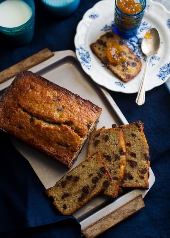 Orange Chocolate Banana Bread Recipe