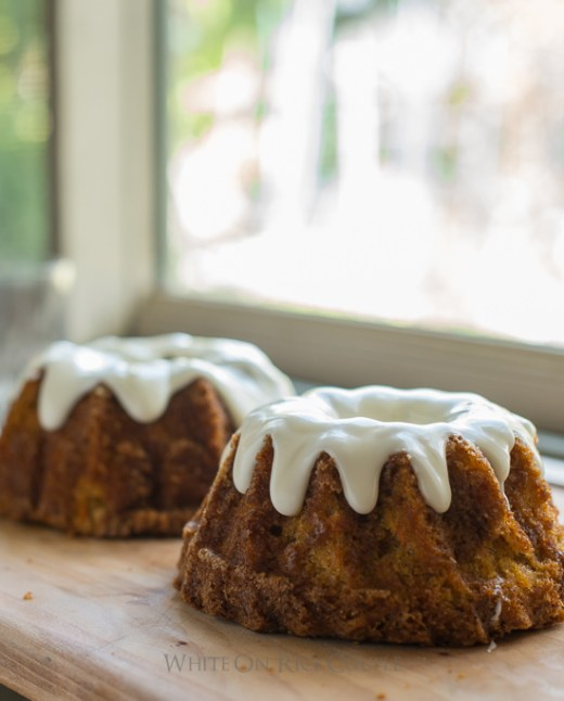 Tender and Moist Carrot Cake Recipe with Cream Cheese Frosting on WhiteOnRiceCouple.com