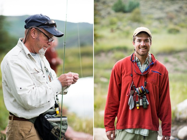 Fly Fishing School with Orvis in Colorado on White On Rice Couple