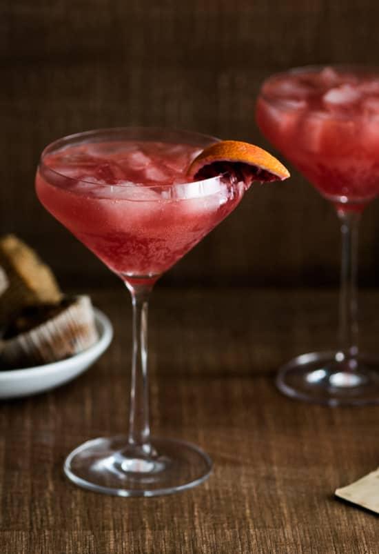 Blood Orange Sidecar Cocktail Recipe| @whiteonrice
