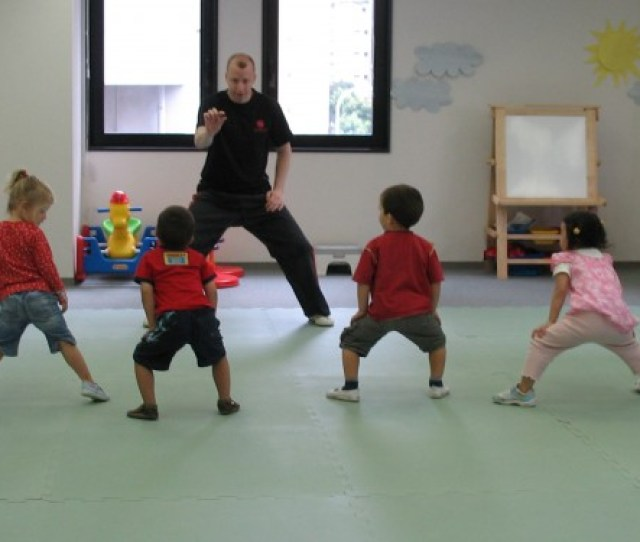 While There He Taught In International Schools Which Included Teaching Physical Education And Kung Fu To Children Ranging
