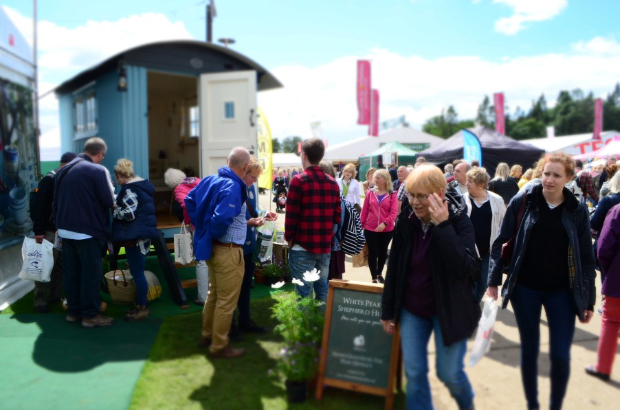 Shepherd Hut at Great Yorkshire Show