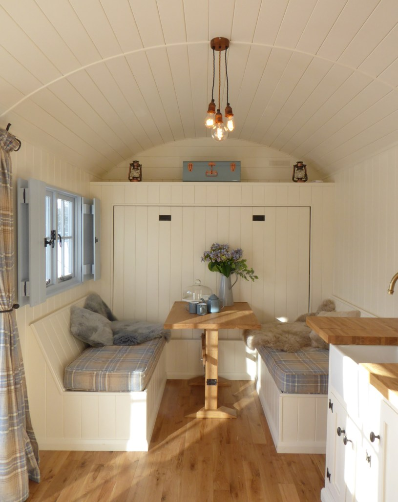 Wall bed shepherd hut
