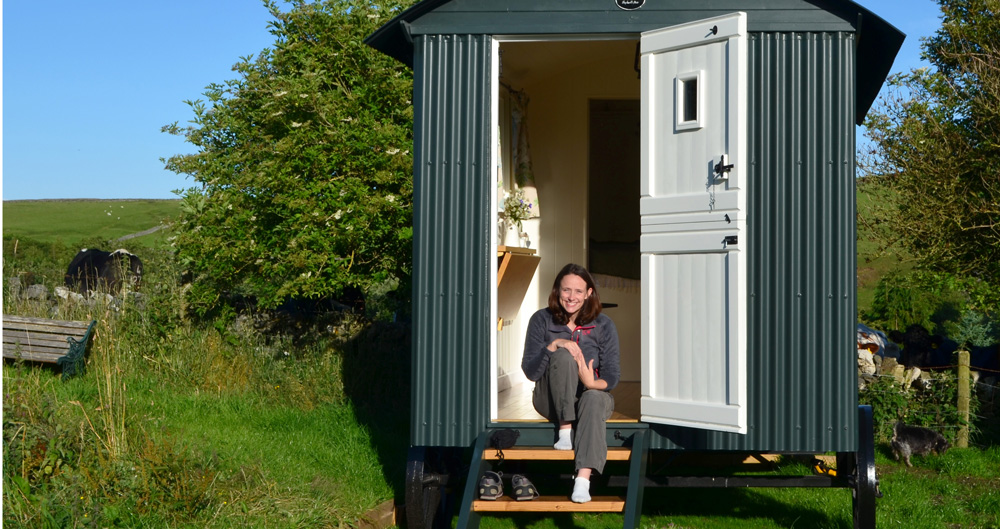 White Peak Shepherd Hut