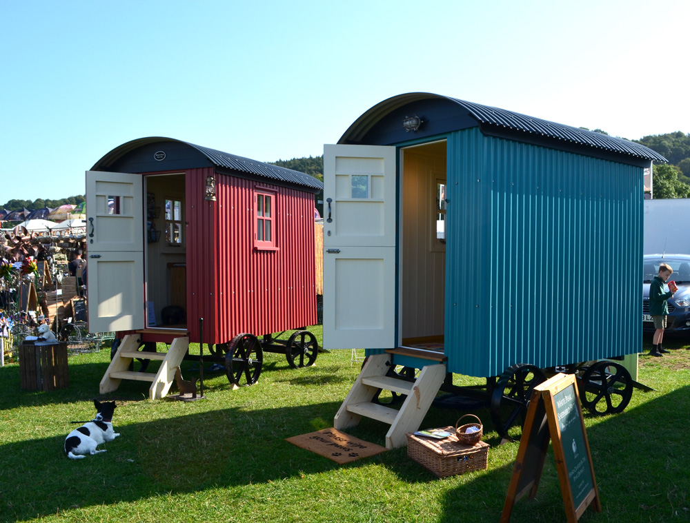 Little shepherd huts or Hutlets