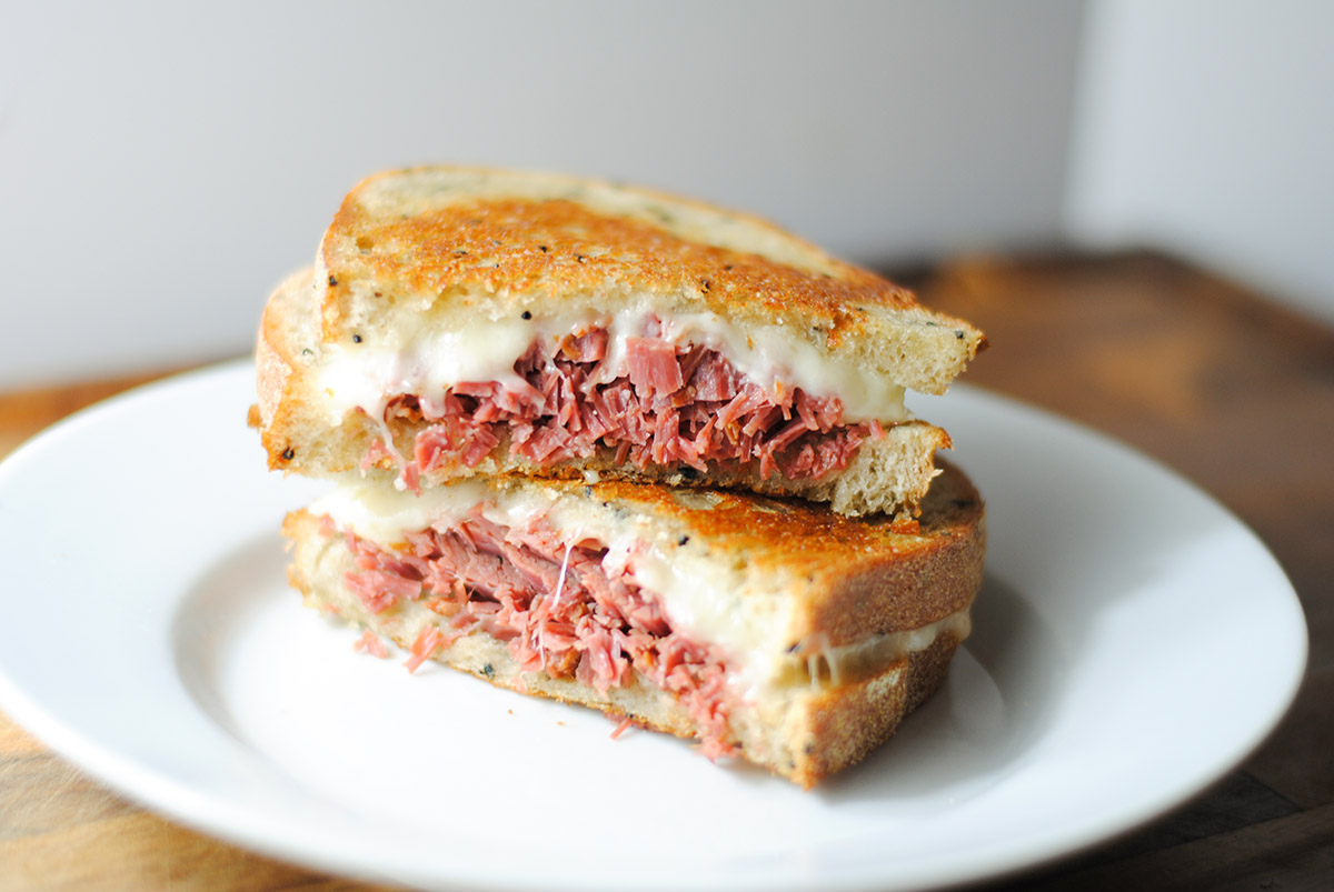 Easy slow cooker corned beef