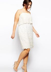 Best White Plus Size Party Dresses