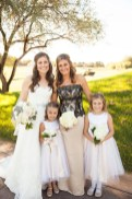 Garcia Wedding-Bride and bridesmaids bouquets