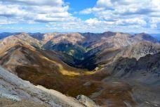 View from Handies Peak
