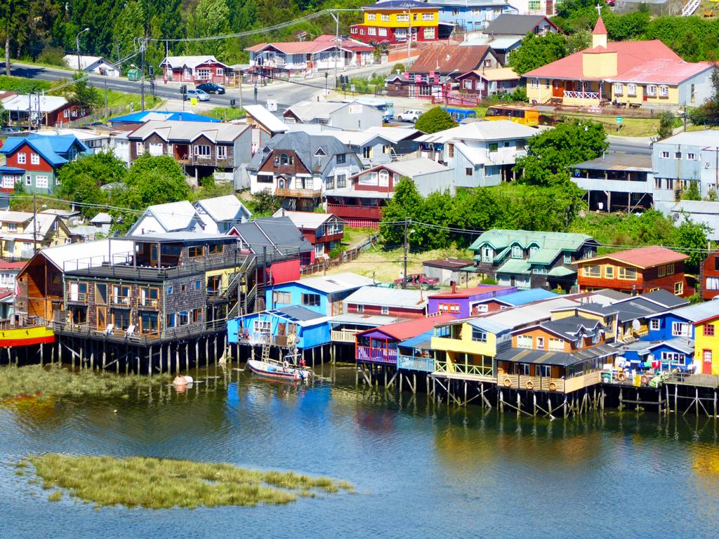 Isla Grande de Chilo  White Postcards