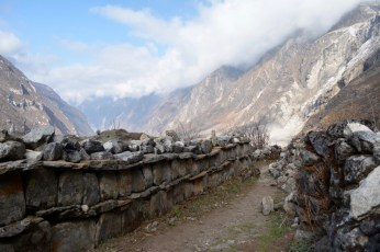Prayer wall of the Langtang Valley