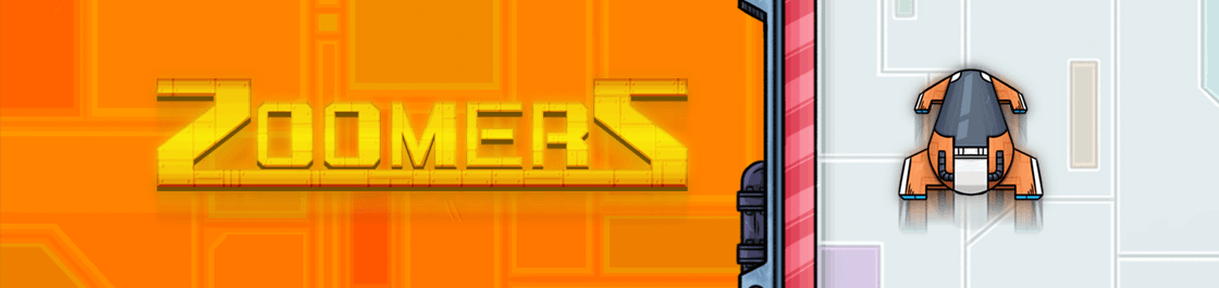 Zoomerz - screenshot of our HTML5 Pixi.JS Phaser.JS endless runner web game