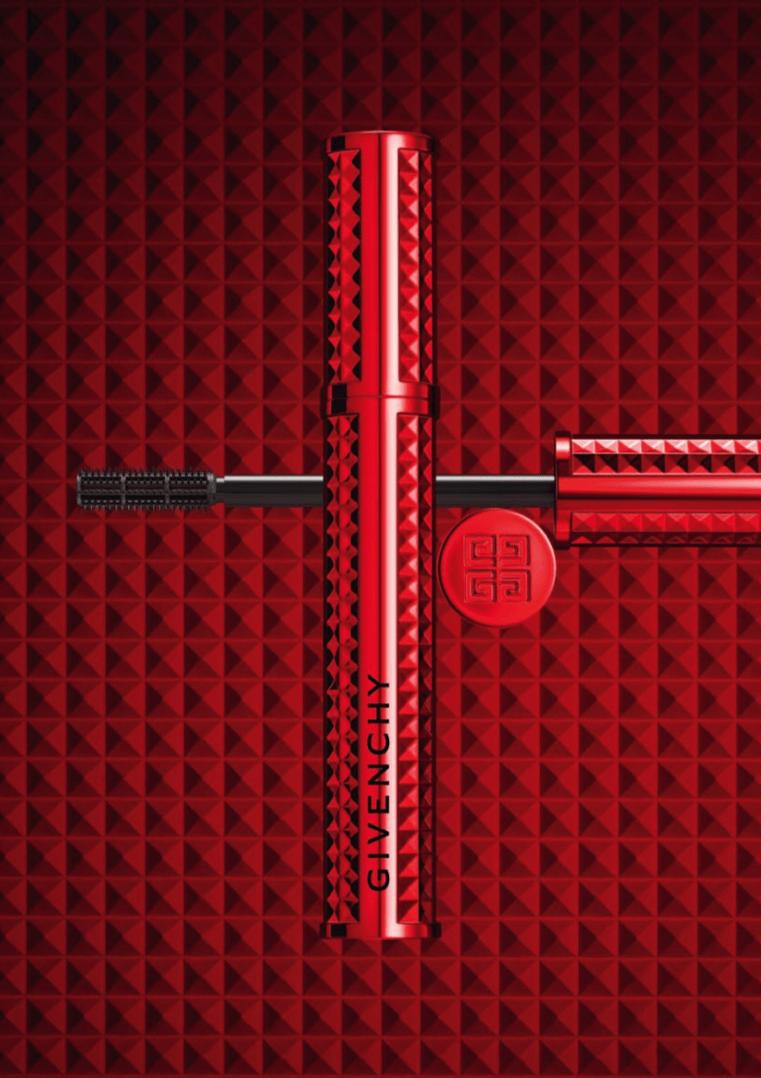 Volume Disturbia - maskara powiększająca objętość rzęs, trwałość 24h; 8g, 131 zł nr 1 black disturbia nr 2 red disturbia